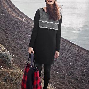 Athleta Cloudbreak Sweater Dress 100% Merino Wool